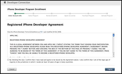 iPhone Dev Centerに登録しよう その2