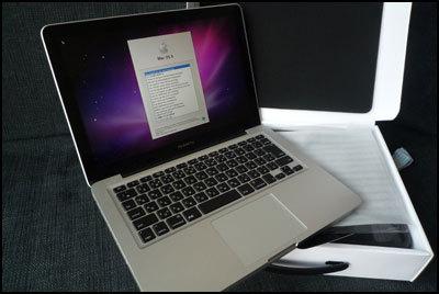 Macの箱を開けて使えるようになるまで