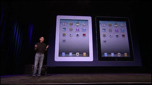 薄く軽く高性能に。iPad2登場