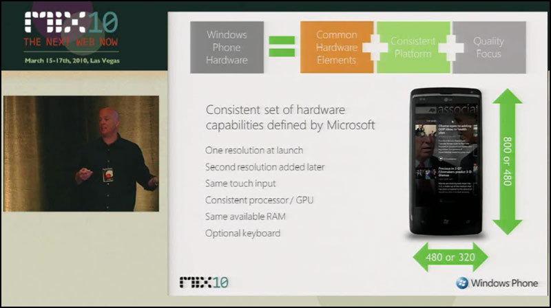 Windows Phone 7 Series ってどんな感じ?